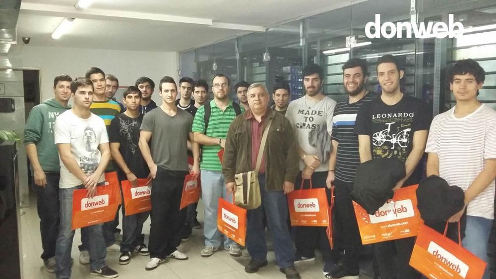 Visita a DonWeb. Visitamos la ex Dattatec en Rosario