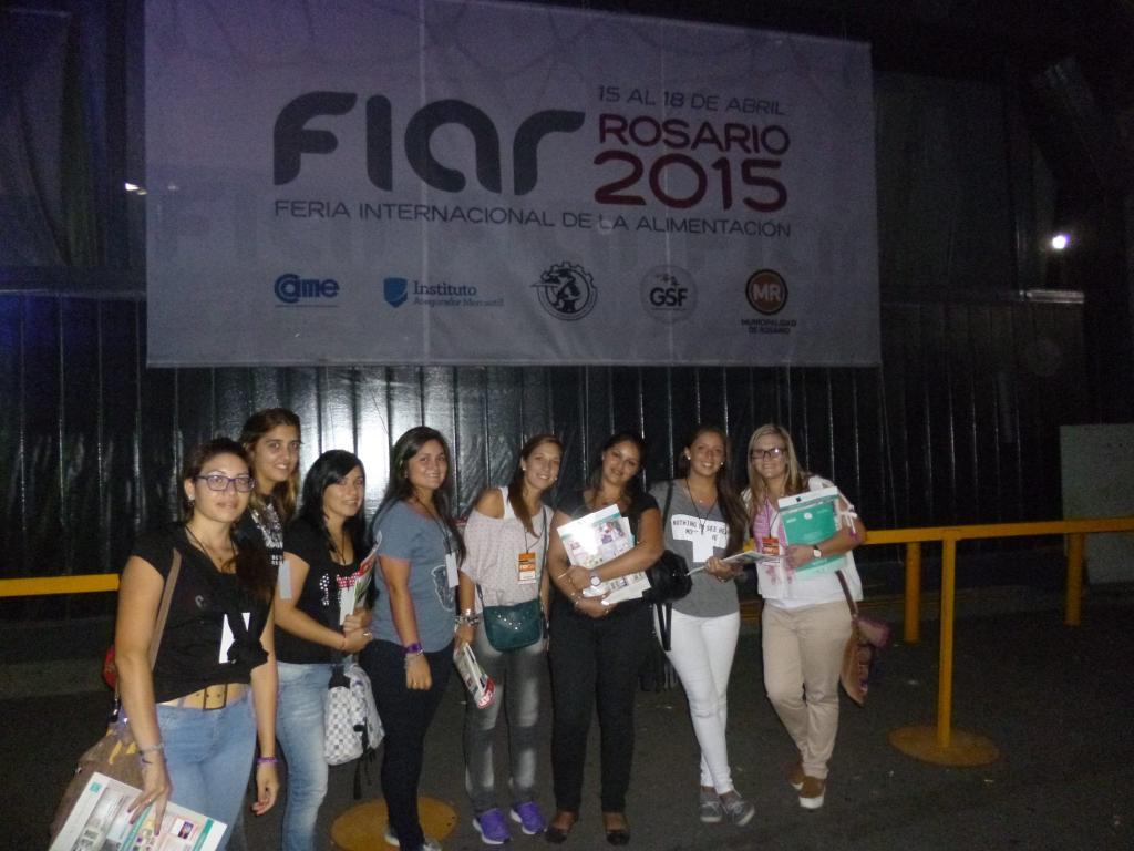 Visita a la FIAR 2015.